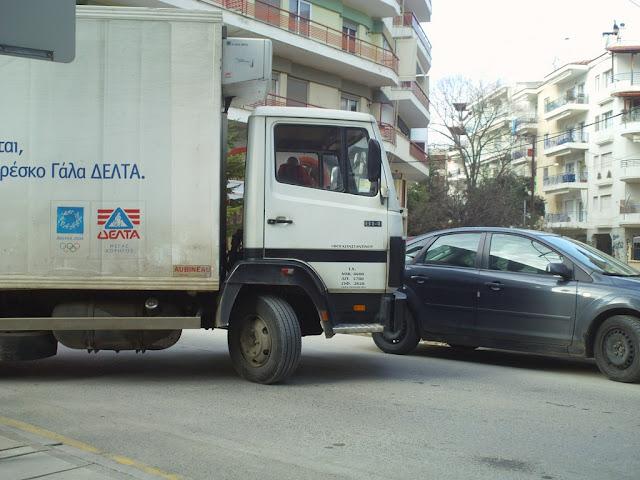 φορτηγό στην Έδεσσα