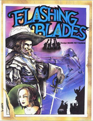 Flashing Blades cover