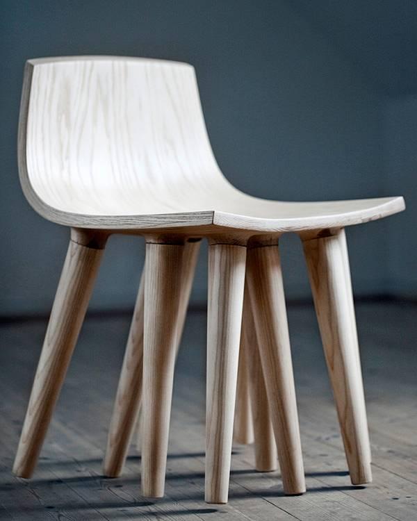 Carpinteria y tallado de madera silla sepii - Sillas originales ...