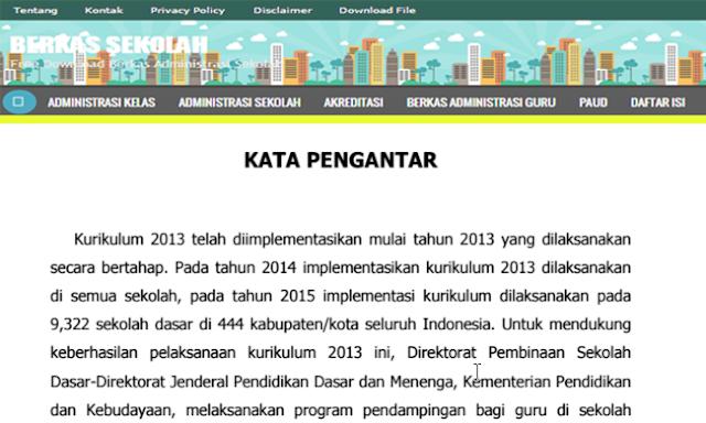 DOWNLOAD PANDUAN TEKNIS RAPORT DAN BUKU INDUK KURIKULUM 2013
