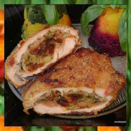 Recetas de pechugas de pollo rellenas al horno - Pechugas de pollo al horno ...