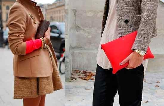 el rojo en la moda