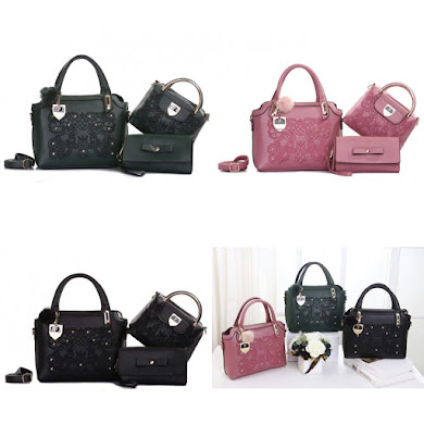 HANDBAG GRED AAA - ARMY GREEN , BLACK , PINK