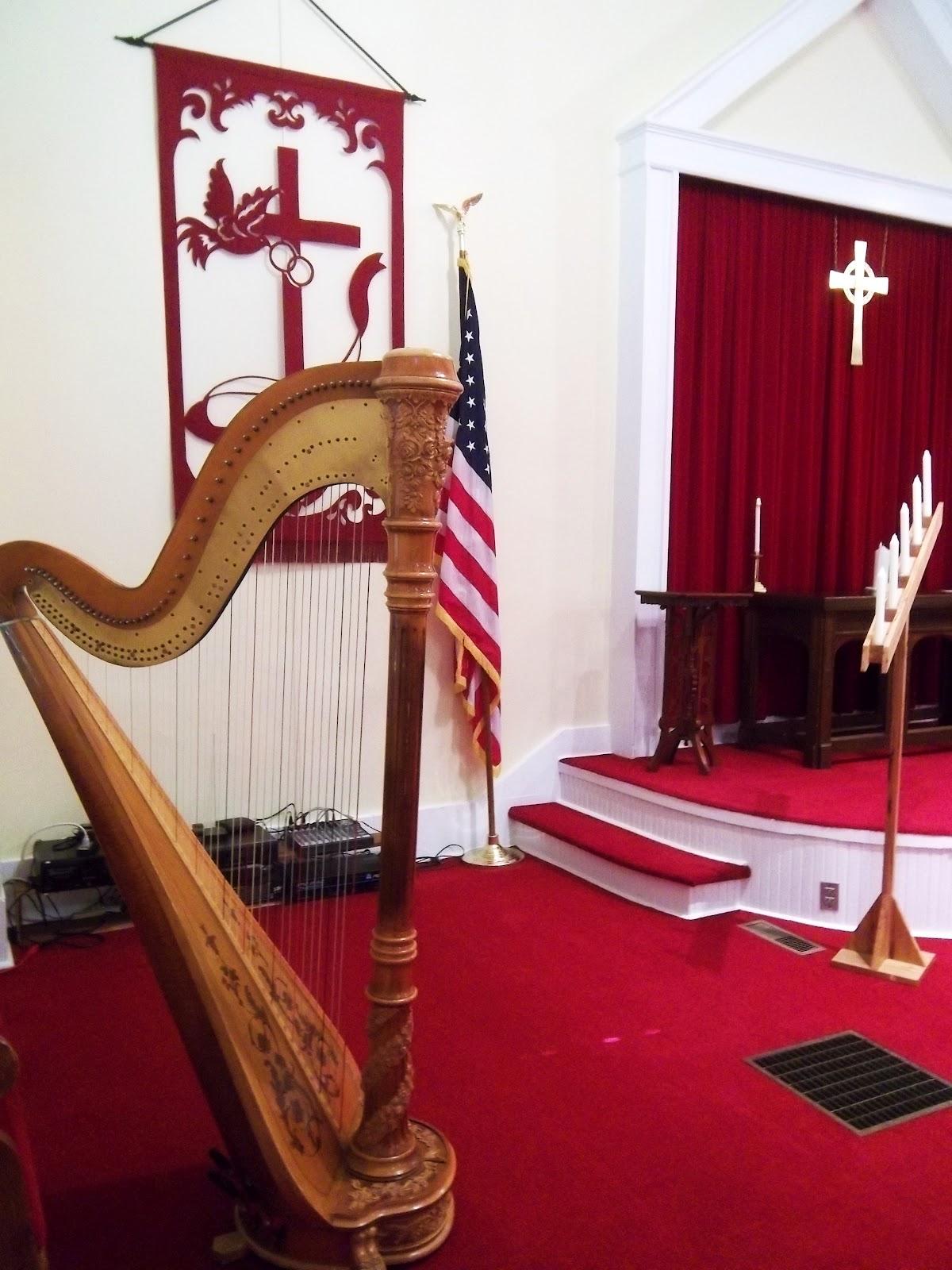 The Classic Harpist Springfield Illinois Wedding Music