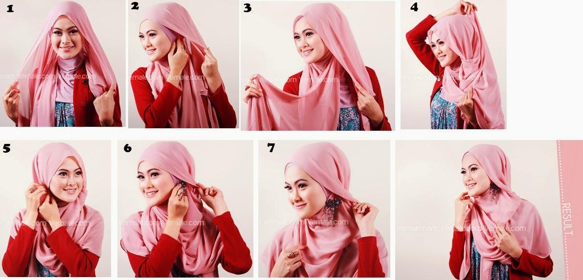 Cara Membuat Hijab yang Simple