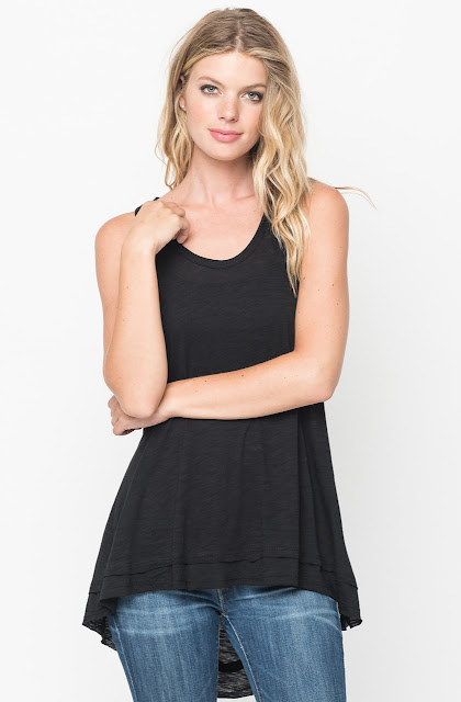 a line tank top