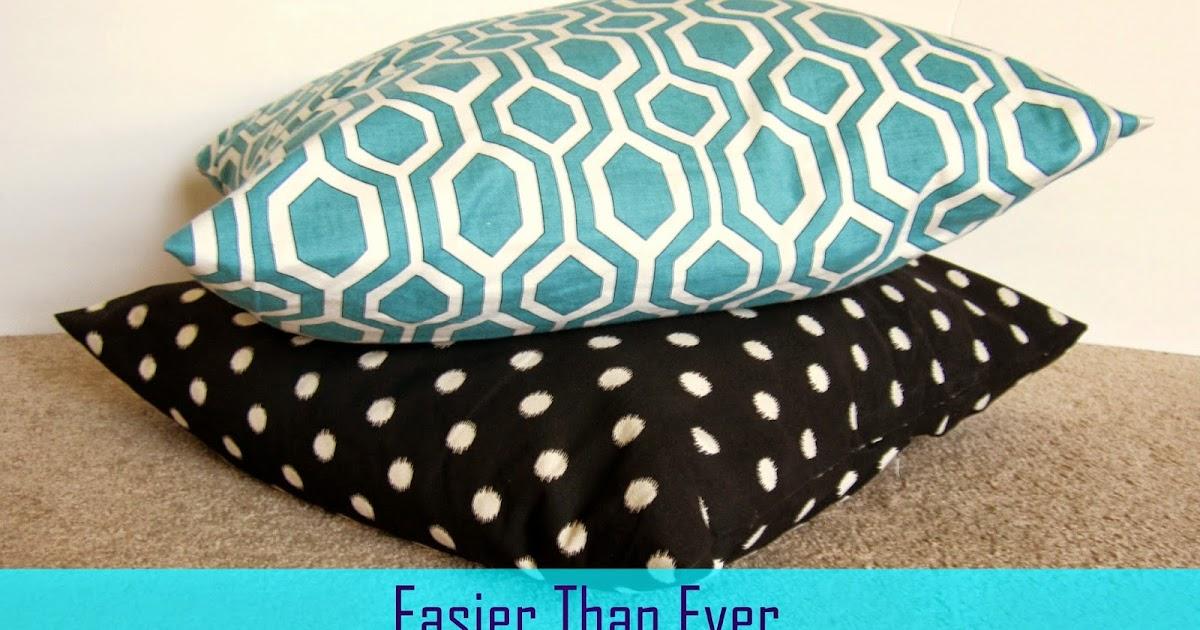 Restoration Beauty Easier Than Ever No Sew Floor Pillows