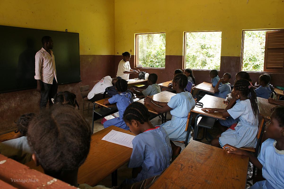 Images in school, Principe