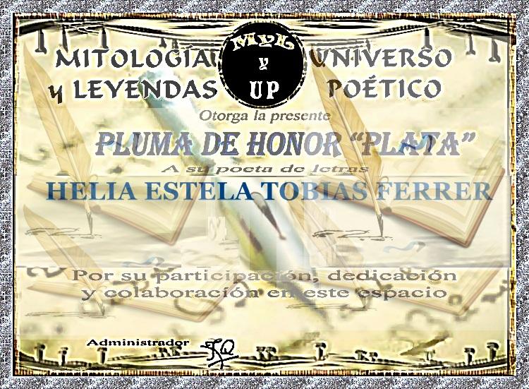 PLUMA DE PLATA MYL UNIVERSO POETICO