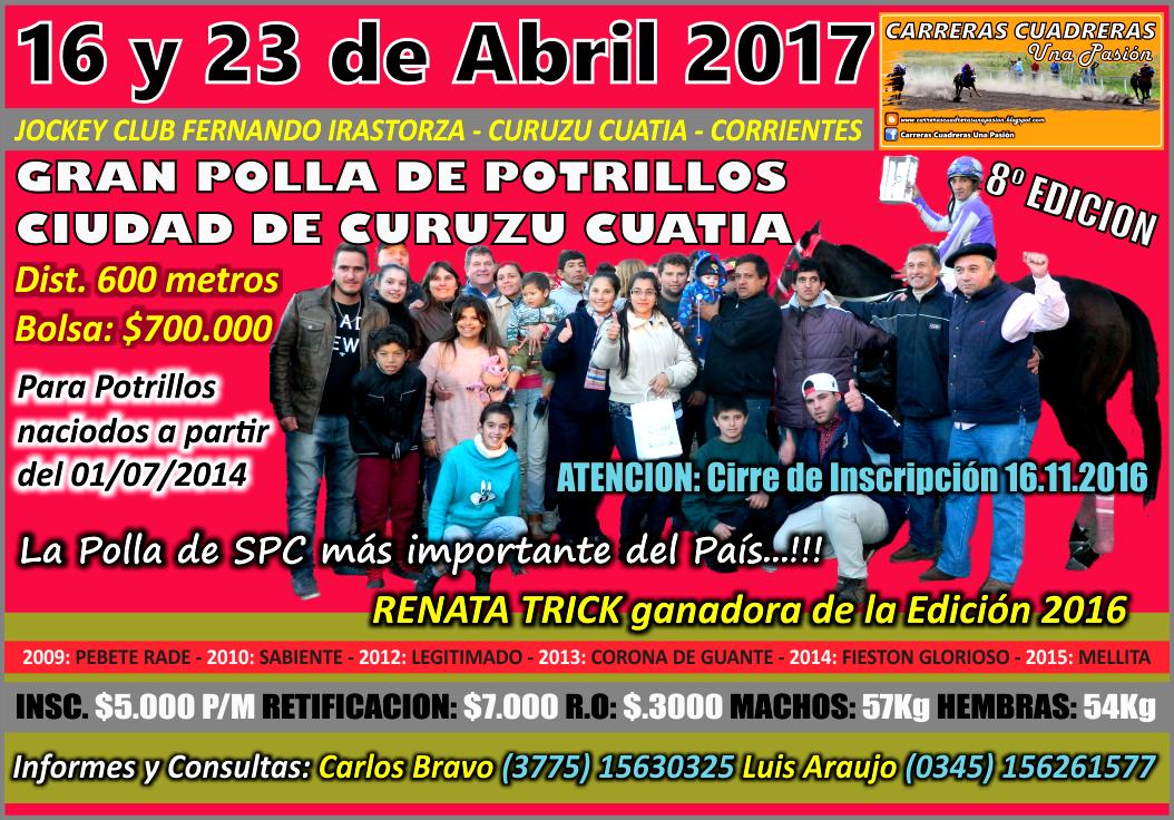 C. CUATIA - P. DE POTRILLOS 2017