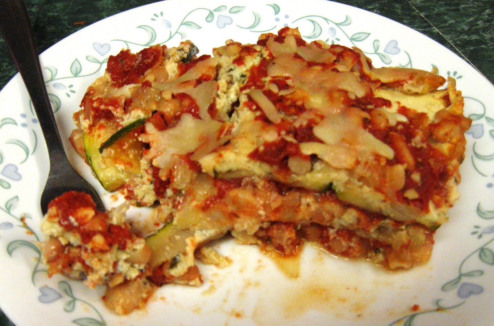 made a zucchini lasagna last fall and loved it! This time I tried my ...