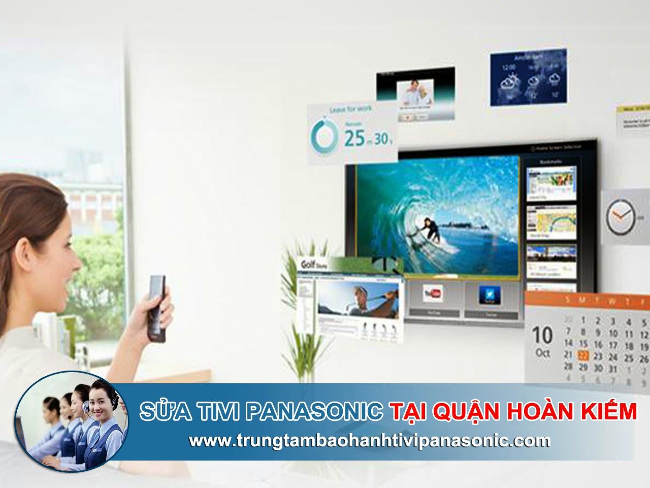 Sửa tivi Panasonic tại quận Hoàn Kiếm | Uy tín