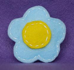 baby blue w/yellow