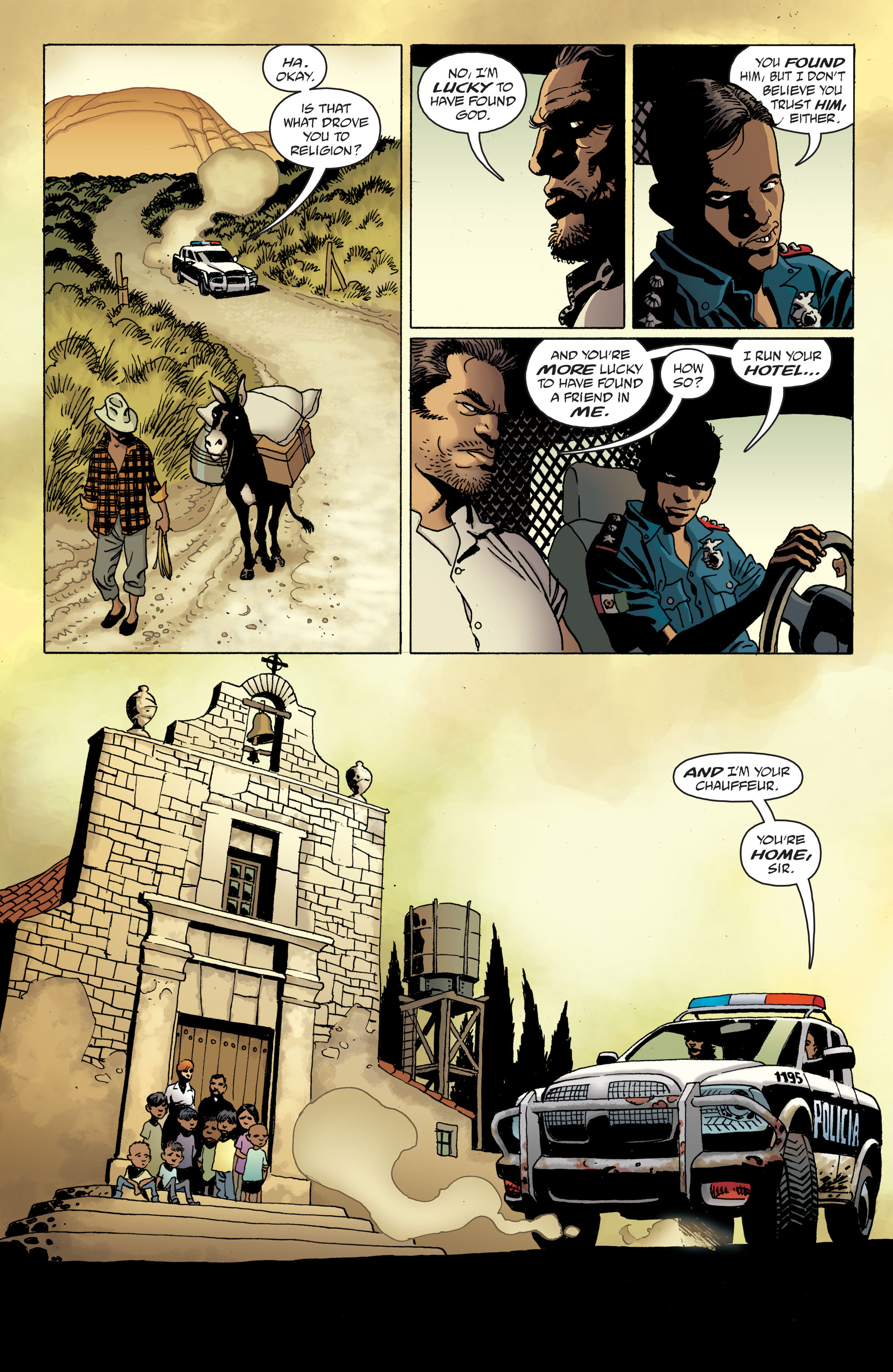 100 Bullets: Brother Lono Full Page 63