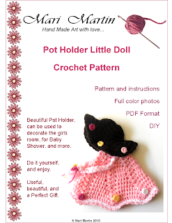 Crochet Pattern Doll PDF