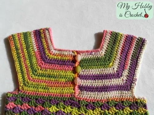 My Hobby Is Crochet: Crochet Top Iris, Child Size 3-5 ...