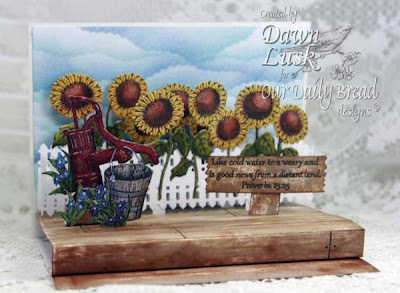 "Our Daily Bread designs ""Never Thirst"" Designer Dawn Lusk"