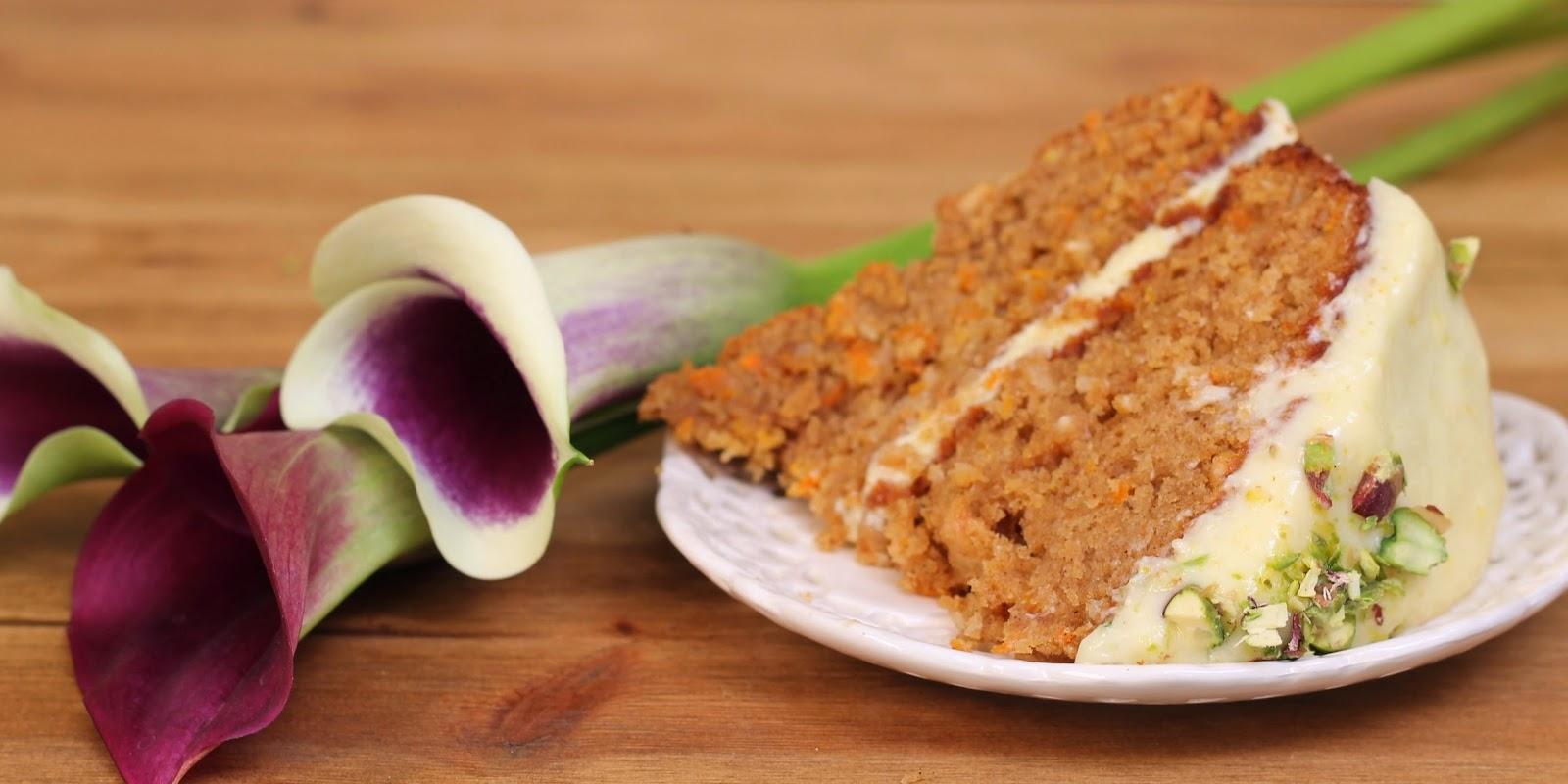 Dulce de leche carrot cake (with chocolate chunks)