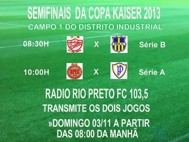 Jogos do Campo 1 do Distrito Industrial, serão transmitidos pela FM 103,5