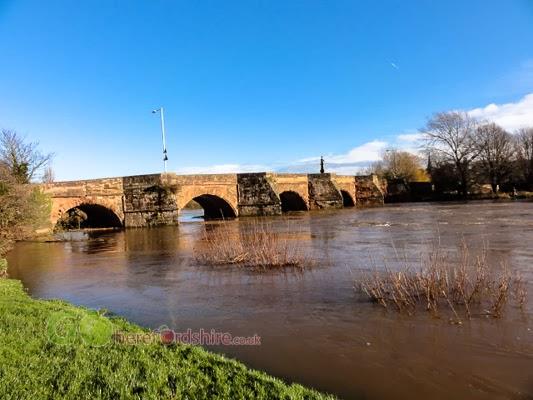 River Wye at Wilton Bridge Ross On Wye