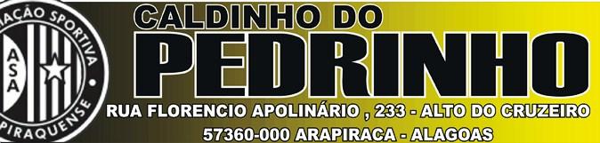 CALDINHO DO PEDRINHO