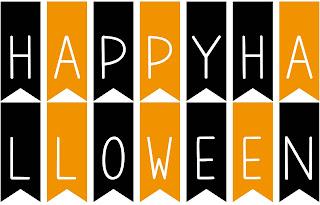 Mon ampersand une d coration facile et rapide pour halloween - Guirlande halloween a imprimer ...