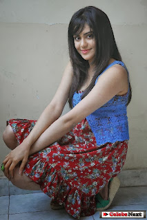 Actress Adah Sharma Latest Pictures at Heart Attack Movie Interveiw  0071
