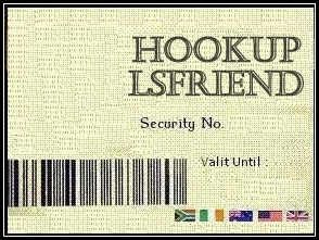 Hookup security arrangement