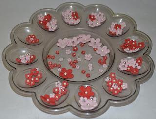 Sockerblommor till Alla hjärtans dag