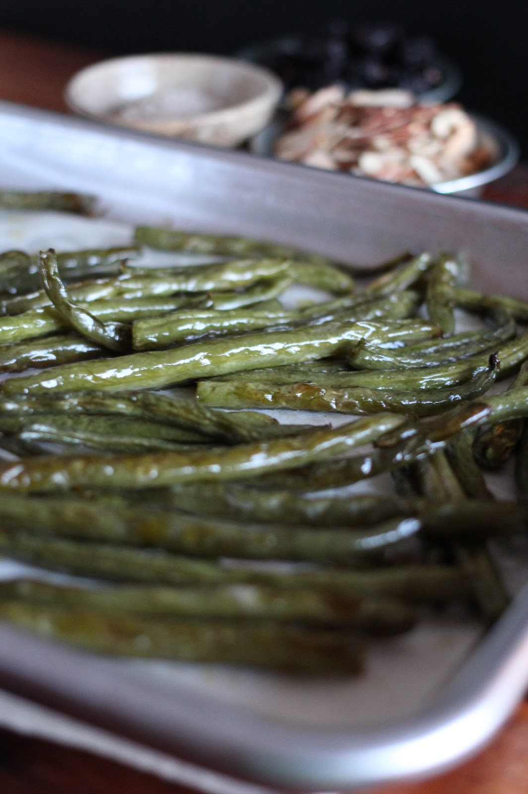 Arctic Garden Studio: Roasted Green Beans