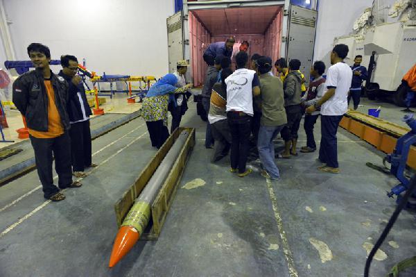 Roket RX2020 Kembali di Uji Coba di Pameungpeuk Garut