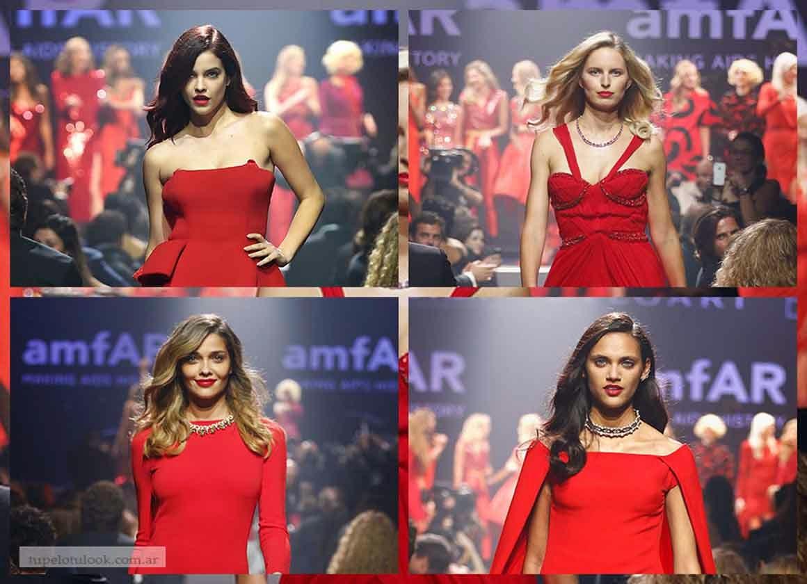 look pelo largo 2014 gala amfar