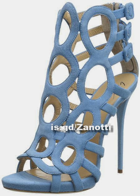 Giuseppe Zanotti Women's Strappy Loops Platform Dress Sandal