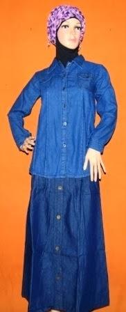 Kemeja Jeans Warna Biru