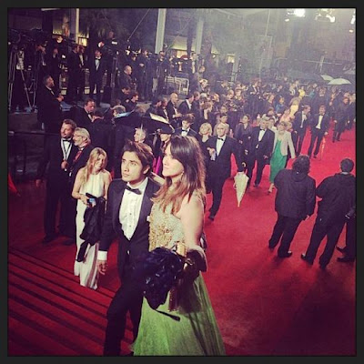 Actor Ali Zafar at the Cannes red carpet First Time