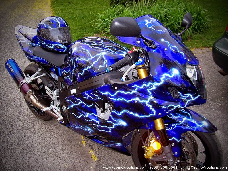 Best Wax For Black Cars >> Trick Tear Design Multiple Colors To Motorcycle | New Design Motorcycle Modification