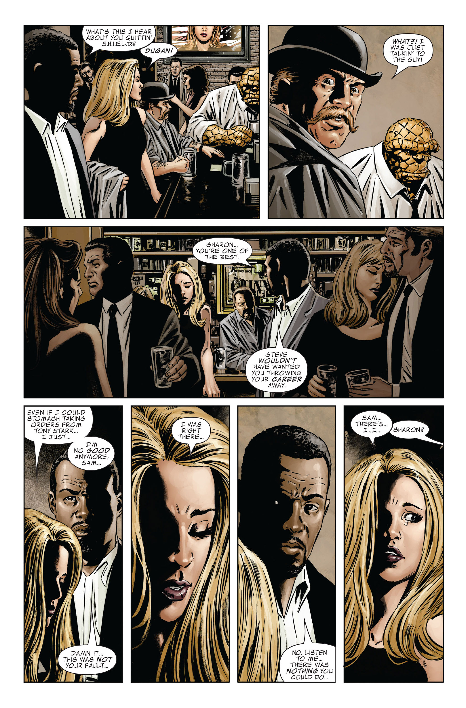 Captain America (2005) Issue #26 #26 - English 9