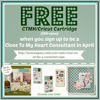 Get a FREE CTMH/Cricut Cartridge of Your Choice in April ($99 value)