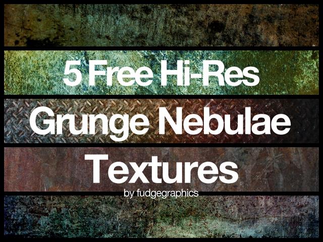 Grunge Nebulae Textures