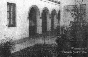 JOSE C. PAZ: Patio del Museo José Altube.