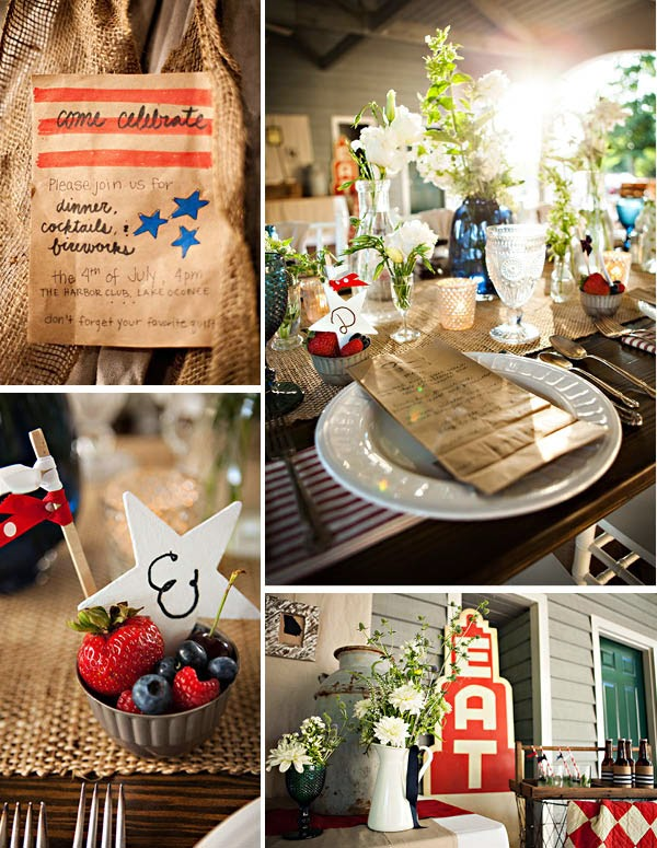 4th Of July party table Occasions