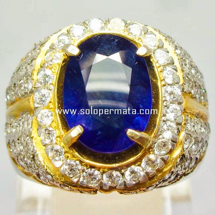 Batu Permata Royal Blue Sapphire - SP 006
