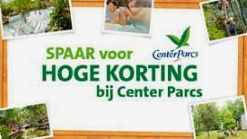 c1000 sparen korting Center Parcs www.centerparcs.nl/c1000verblijf