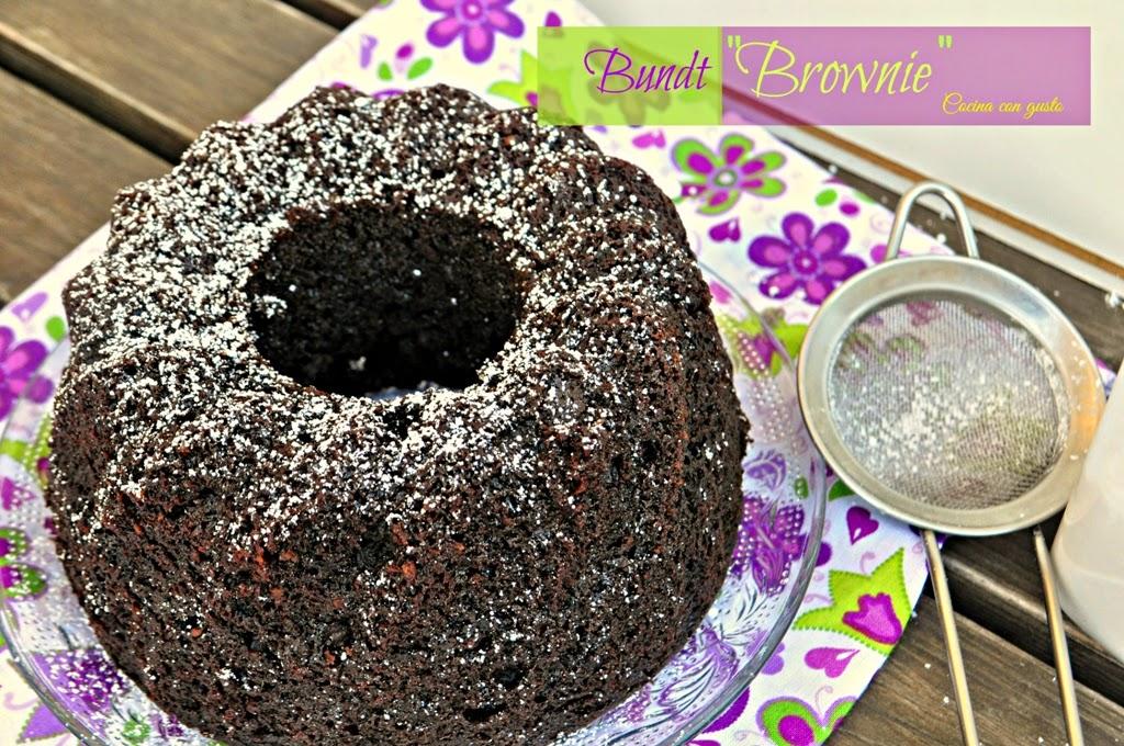 """Bundt """"brownie"""""""
