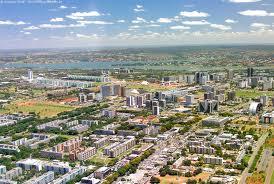 vista aerea de Brasilia DF