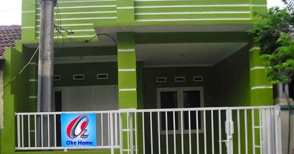 beberapa contoh cat rumah warna hijau muda cari