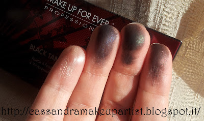 Black Tango Palette - Make Up For Ever - MUFE - Inci - swatch - prezzo - review - recensione
