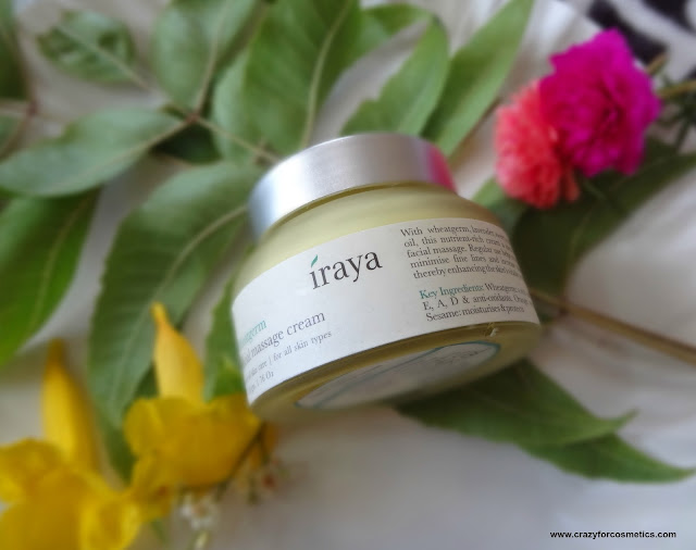 Iraya Wheatgerm Facial Massage Cream Jabong