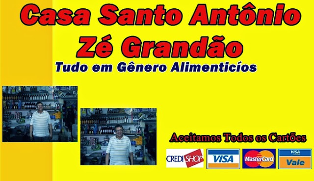CASA SANTO ANTÔNIO - ZÉ GRANDÃO