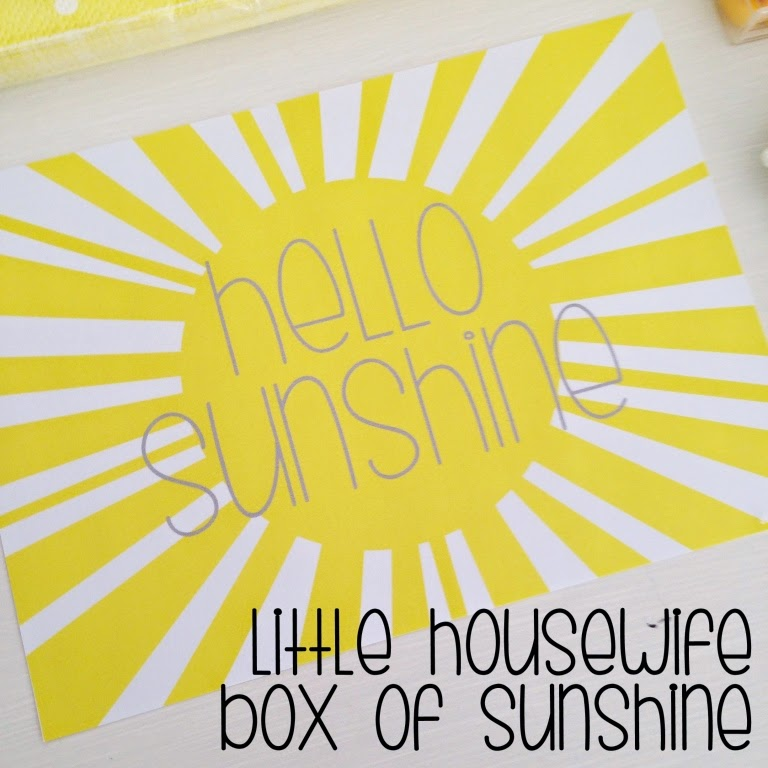 Shocking image for box of sunshine printable